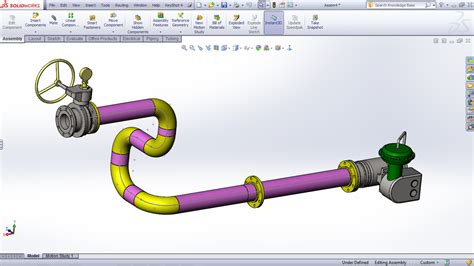 tutorial solidwork pdf tutorial routing pipes and tubes in solidworks