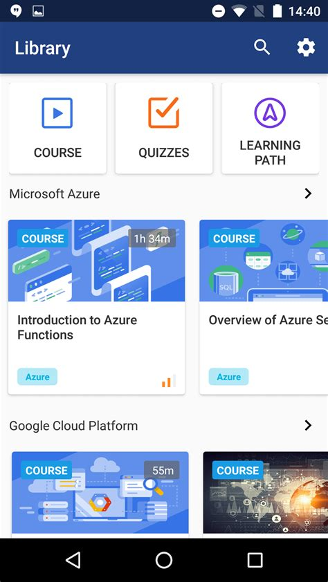 android help introducing the new cloud academy mobile app cloud academy