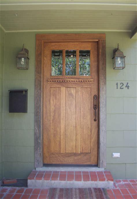 arts and crafts front door craftsman wood door gallery the front door company