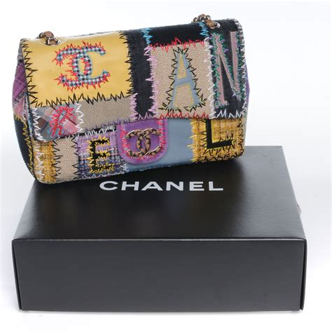 Patchwork Chanel Bag - chanel patchwork jumbo flap bag 47600