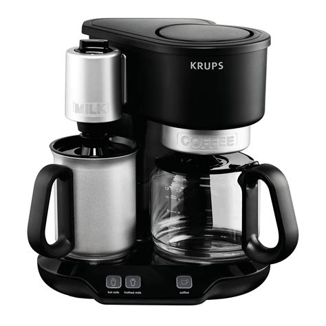 milk frother bed bath and beyond krups km310850 latteccino coffee maker with milk frother
