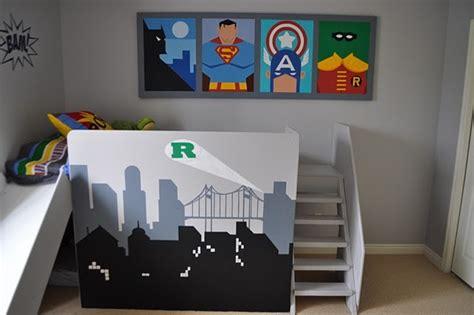 superhero kids bedroom superhero kids room