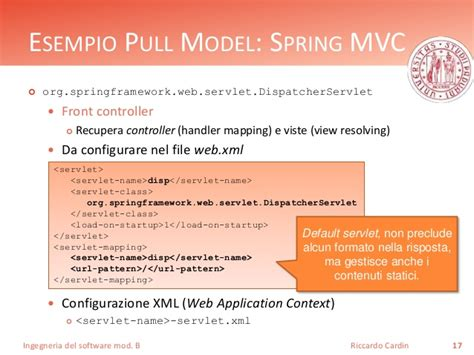 design pattern of dispatcherservlet design pattern architetturali model view controller mvp e