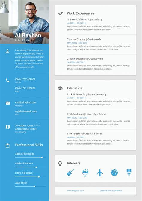 Ui Design Resume Sle 25 best ideas about ui developer on ui design