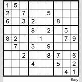 Sudoku Medium Difficulty   444 x 474 gif 14kB