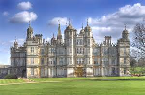 Downton Abbey Castle Floor Plan great british houses burghley house an elizabethan