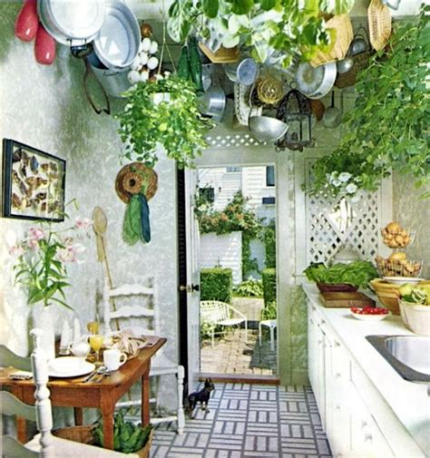 plants in the kitchen 49 colorful boho chic kitchen designs digsdigs