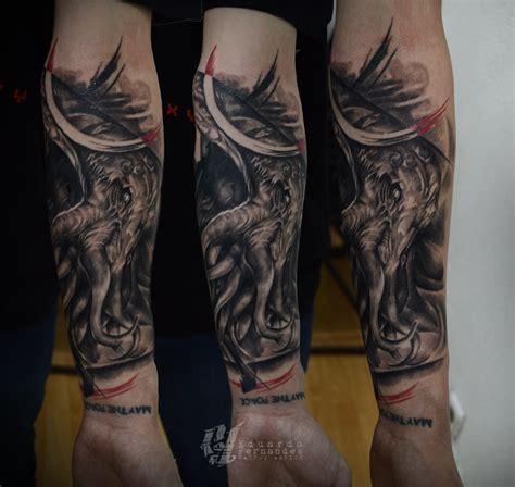 cthulhu tattoo cthulhu tattoos eduardo fernandes