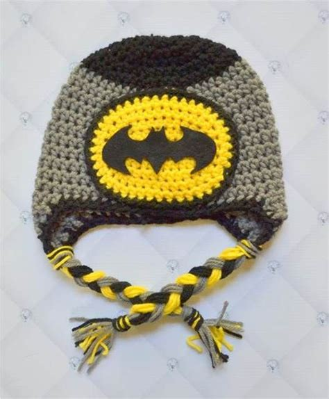 crochet pattern batman logo crochet batman hat pattern bing images crochet