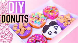 diy projects for teens diy california donuts inspired youtube