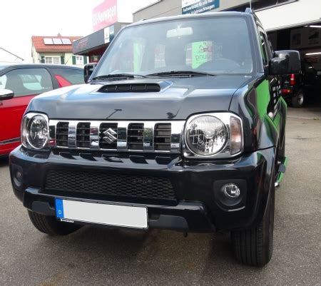 Suzuki Ignis List Cover Grill Depan Jsl Front Grille Cover Chrome autohaus f 252 rst onlineshop chromed front bumper grille