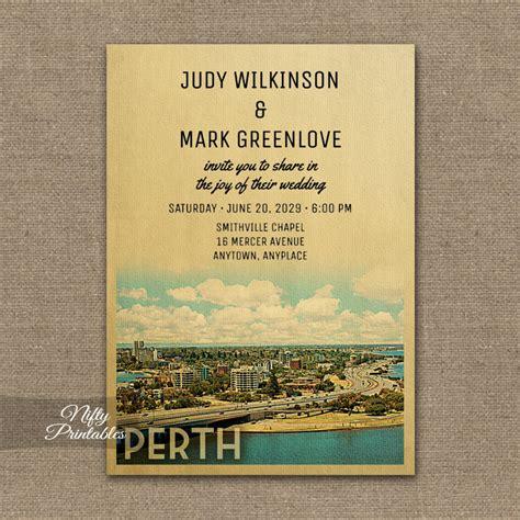 perth wedding invitations perth wedding invitation printed nifty printables