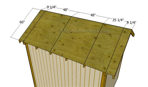 diy shed roof plans myoutdoorplans free woodworking