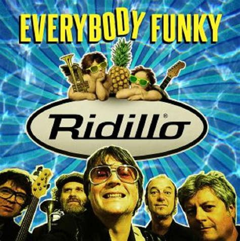 everybody testo ridillo in radio con quot everybody funky quot testo