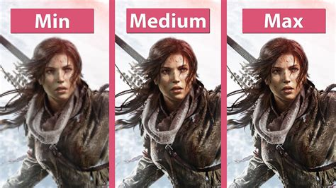 rise of the tomb raider details emerge pc gamer rise of the tomb raider pc comparatif min medium