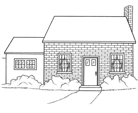 brick house coloring page fancy a brick house coloring page coloring pages