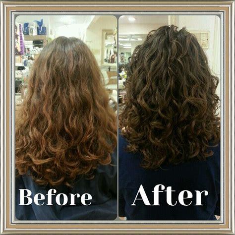is deva cut hair uneven in back deva cut before and after hair pinterest