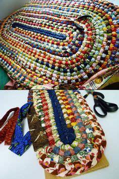 Knit Fox Cat Floor Mat beautiful handmade braided rug looks like a no sew