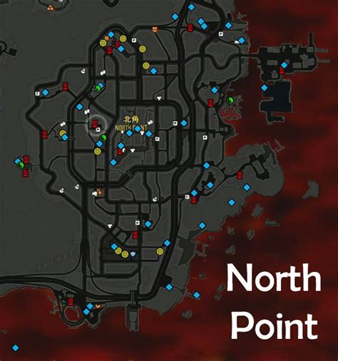 collectibles  maps  sleeping dogs game guide