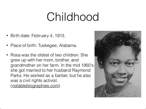 rosa parks biography for middle school rosa parks by cambria