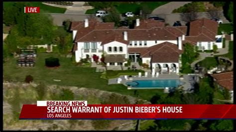 Los Angeles Sheriff Department Warrant Search Felony Search Warrant Served At Justin Bieber S Home Egg Throwing Incident Fox40