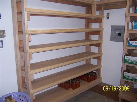 wood pantry and canning storage by enchantedacresdesign