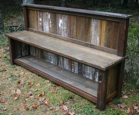 rustic entry bench 301 moved permanently
