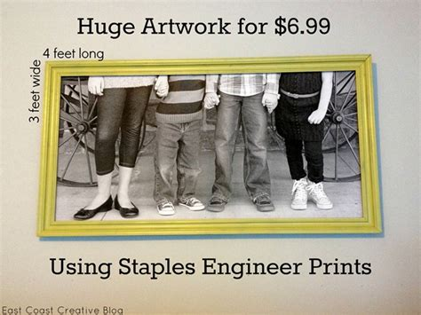 decorating with pictures using engineer prints