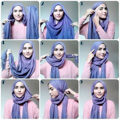 tutorial hijab velvet simple 17 best ideas about easy hijab tutorial on pinterest