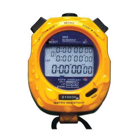 Harga Grosir Stopwatch 100 Memory Stop Water Resistant 100 Memory Sper Scientific