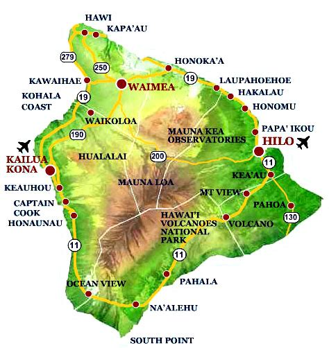 hawaii big island map simple solutions for planet earth and humanity the big