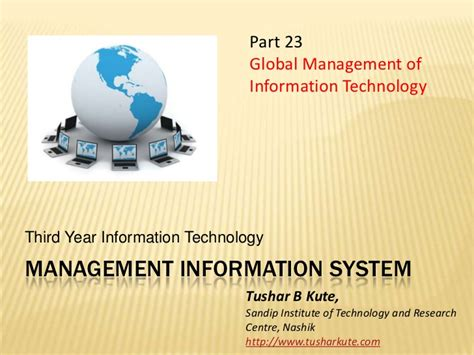 Cyber Security Reddit Mba In Management Information Systems by Mis 23 Global Management Of It Presentation