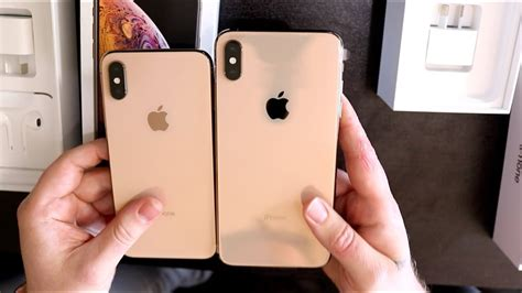 iphone xs iphone xs max gold unboxing