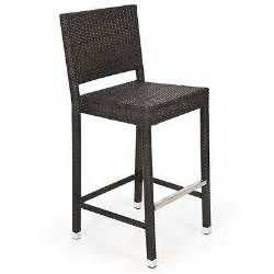 bar stools for outdoor patios outdoor wicker barstool all weather brown patio furniture new bar stools ebay