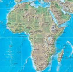 africa map rivers lakes mountains physical map of africa deserts apps directories