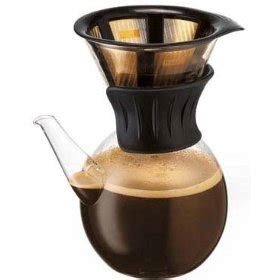 Filter Drip Coffee bodum kona drip coffee maker with gold tone filter