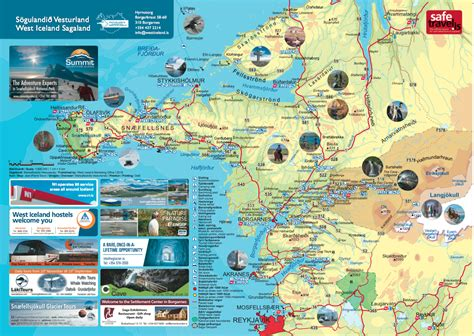map of attractions in popular 186 list map of iceland tourist attractions