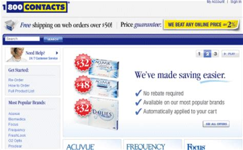1-800-Contacts (1800contacts.com) Coupon Code 1 800 Contacts Promo Code