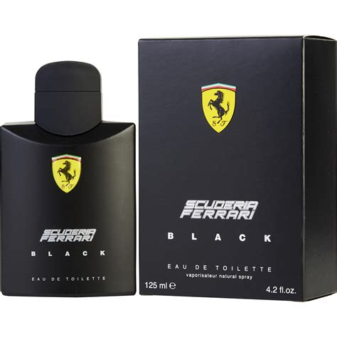 scuderia black eau de toilette fragrancenet 174