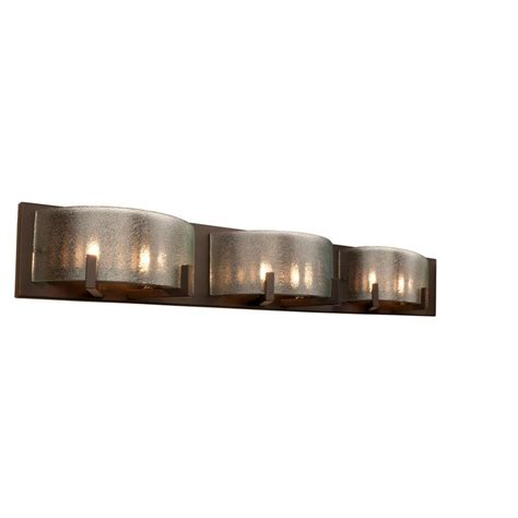 6 Light Bathroom Vanity Lighting Fixture Alternating Current Firefly 6 Light Bronze Vanity Fixture