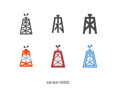 oil rig icon    icons