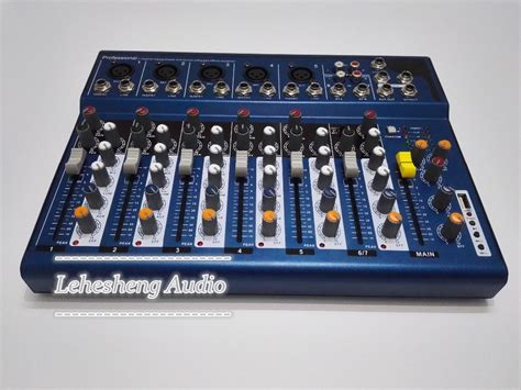 Mixer Yamaha Cina buy ammoon f7 usb 7 channel digtal mic line audio sound