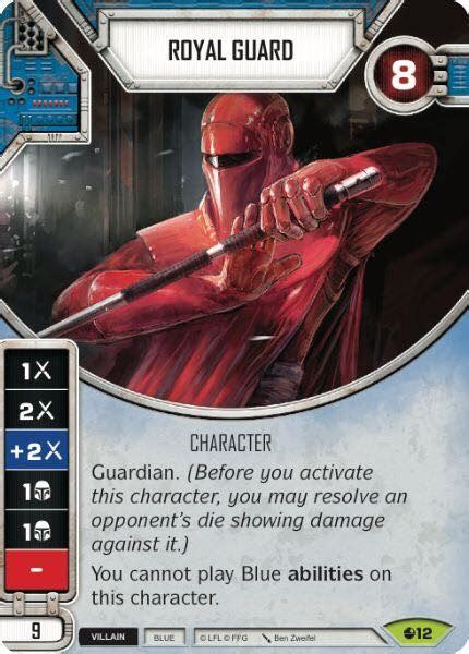 wars destiny card template royal guard wars destiny card wikia fandom