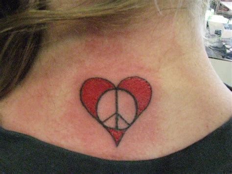 neck stone flower tattoo stone 70 peace tattoos