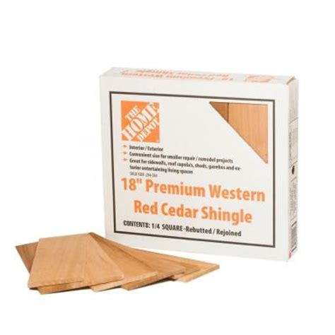 18 in western cedar perfection shingles 25 sq ft