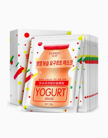 Rorec Honey Mask yogurt mask box of 10 by rorec products beautymnl