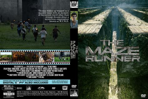film maze runner dvd the maze runner dvd cover 2014 r0 custom art