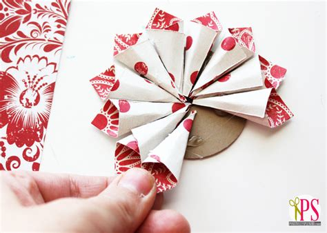 Easy Paper Decorations To Make - diy ornament by positively splendid on