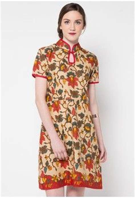 desain dress tenun baju kerja batik kombinasi polos penelusuran google