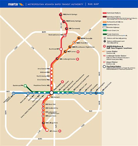 marta station map springs marta station